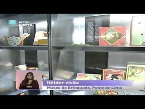 Museu do Brinquedo Português na 'Praça da Alegria' da RTP1