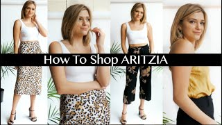 HOW TO SHOP AT ARITZIA | Must Haves & Regrets, 2019 Try On Haul by Monica Church