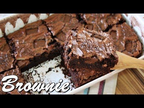 BROWNIE DE CHOCOLATE MOLHADINHO E DELICIOSO | Menino Prendado