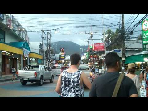 Street Scenes of Phuket, Thailand… Island OFF of Thailand. (Patong Beach)