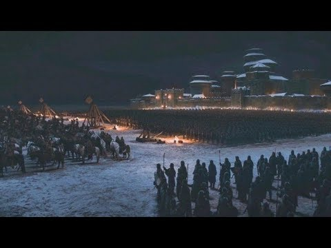 White Walkers Vs Winterfell | Game of Thrones (HBO)