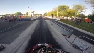 9. 2007 ZZR600 vs 2006 ZX6R 636 1/8 mile