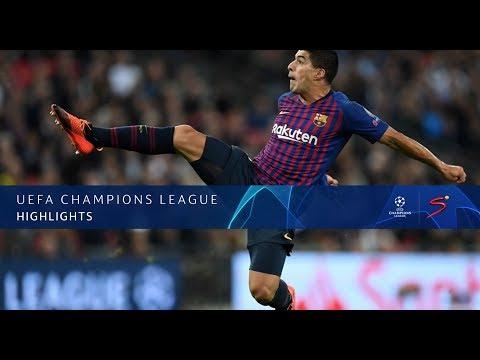 UEFA Champions League  Tottenham vs Barcelona  Highlights