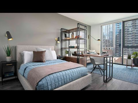 Tour a studio model at River North's new HUBBARD221