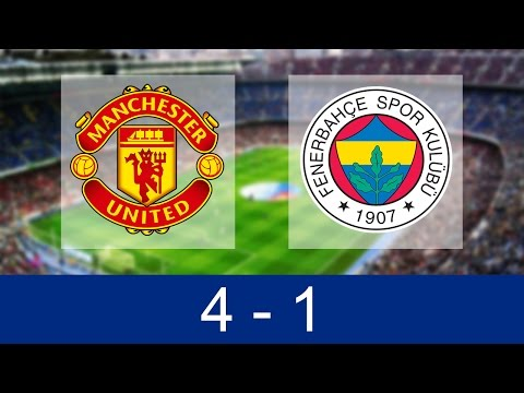 Manchester United vs Fenerbahce 4-1 | All Goals and Highlights 20/10/2016 [HD]