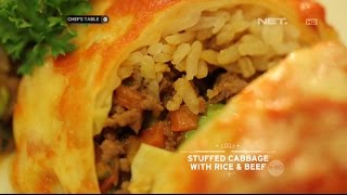 Video Chef's Table - Stuffed Cabbage With Rice & Beef MP3, 3GP, MP4, WEBM, AVI, FLV April 2019