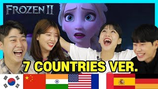 Video Korean React to Frozen 2 ' Into the Unknown ' In 7 Language!!! (USA, KOREA, CHINA, INDIA, SPAIN..) download in MP3, 3GP, MP4, WEBM, AVI, FLV January 2017