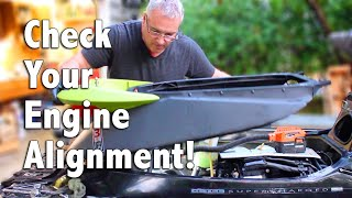 2. How To Check the Engine Alignment on Your Sea-Doo PWC