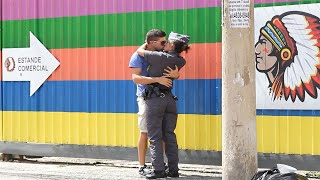 Kissing Prank - POLICE EDITION