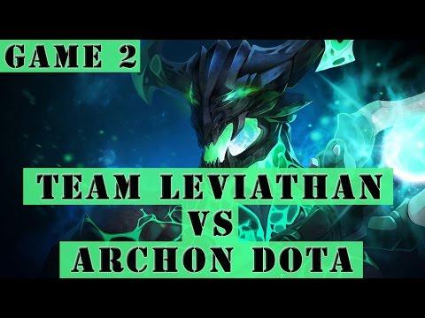 Dota 2 Gameplay - Team Leviathan VS Archon Dota (SLTV Star Series 13 Game 2)
