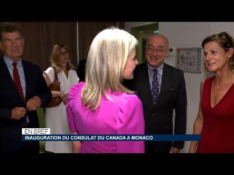 En bref : inauguration du Consulat du Canada à Monaco