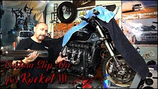 7. Design & Create a Custom Slip-On exhaust for Rocket III... PART 1.
