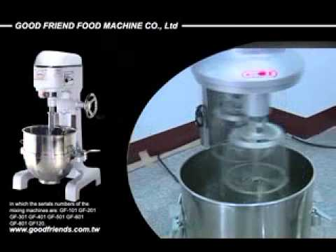 About Good Friend Food Machine Co, Ltd: Professional Mixer Manufacturer