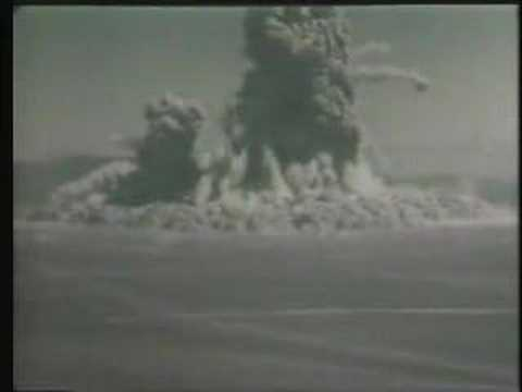 sedan - 0800030 - Project Sedan - 1962 - 7:00 - Color - Project Sedan, a Plowshare Program test, that promoted the application of nuclear explosives to develop peace...