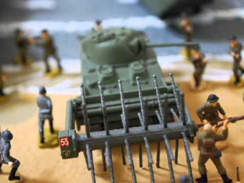 Airfix 1/76 D - Day Diorama