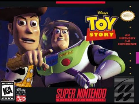 toy story super nintendo the claw
