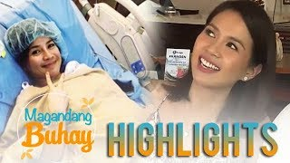 Video Magandang Buhay: Kaye shares a funny story about her pregnancy MP3, 3GP, MP4, WEBM, AVI, FLV Agustus 2018