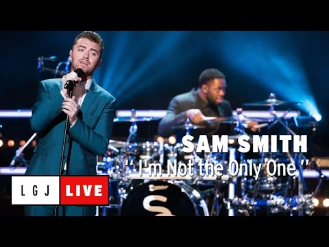Sam Smith - I'm Not the Only One - Live du Grand Journal (видео)