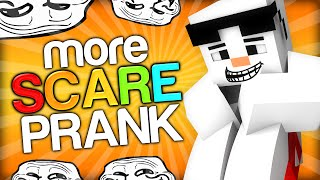SCARING A SNOWMAN - Minecraft Trolling Youtubers with Minecraft Mods (Scare Prank on Baki)