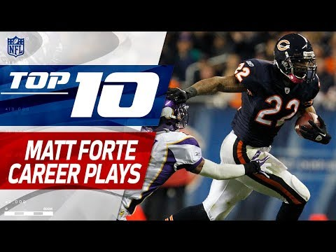 Video: Matt Forte's Top 10 Career Plays! | NFL Highlights