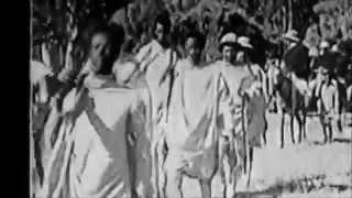 Old Ethiopian's Film During An Italian War