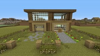 """Minecraft - Awesome Wooden!! Survival House """"Xbox Edition"""" ASH#11"""