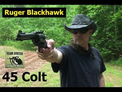 Action - Fun Gun Reviews Presents: The Ruger Blackhawk in 45 Colt. This is a classic Single Action Revolver that brings the joy back to shooting one round at a time. ...