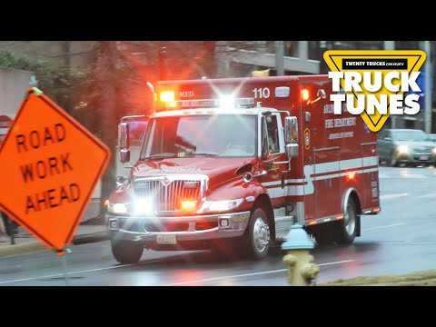Ambulance Video For Children | Kids Truck Video - Fire And Rescue