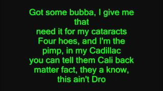Kush (HD Lyrics) - Dr. Dre Ft. Snoop Dogg&Akon
