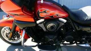 6. $18,699: 2014 Kawasaki Vulcan Vaquero ABS SE in Candy Burnt Orange
