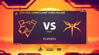 Virtus.pro & Mineski, MDL Disneyland® Paris Major, bo3, game 2 [Mael & NS]