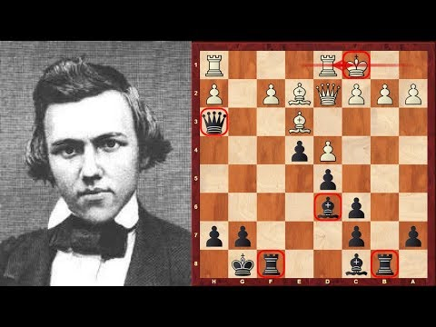 Paul Morphy's disputed Amazing Immortal Chess Game – Brief commentary #57 – London 1858