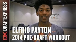 Elfrid Payton 2014 NBA Pre-Draft Workout & Interview HD