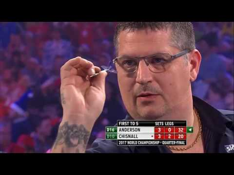 world darts championship: gary anderson vs dave chisnall - highlights