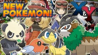 Pokémon X And Y - New Pokémon And Character Customization | May CoroCoro Scans