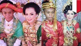 Pernikahan dini: pasangan 16 tahun ini sudah menikah! - TomoNews