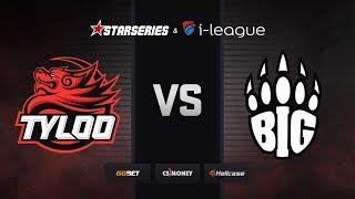 [RU] BIG vs TYLOO   Map 2 – Dust2   StarSeries i-League Season 7