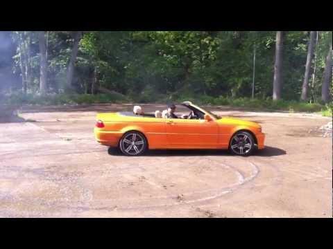 BMW E46 325 Turbo Burnout