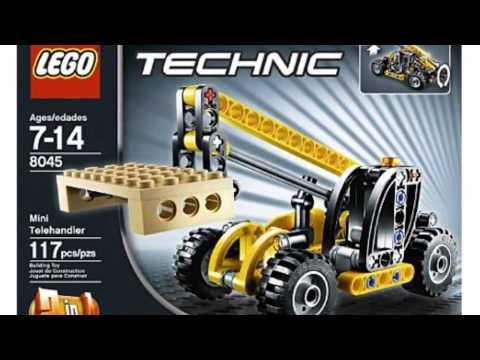 Video Video ad for the Technic Telehandler 8045