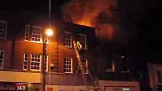 Newbury United Kingdom  city photo : Fire in Newbury, Berkshire, UK