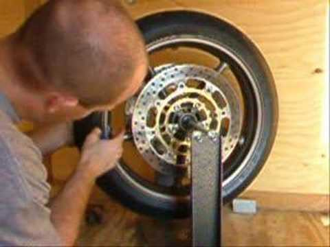 How to Balance a Motorcycle Wheel