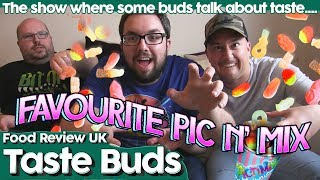 Welcome to Taste Buds, the show where some buds talk about taste and this time the FRUK Buddies are discussing what the very BEST Pic N' Mix sweeties are.►Our Podcast : http://shoutengine.com/FRUKUnwrappedTheFoodReviewUKPodcast/►My Comedy : http://www.youtube.com/user/JamiesonComedy► My Movie Reviews: https://www.youtube.com/channel/UCbQ3rZXwS6quktVPLojG7dg►My Let's Plays: https://www.youtube.com/channel/UCuvxtcDOJPjFdwSmaSMSjFQ►My VLOG : http://www.youtube.com/user/MichaelJamiesonsLife►ReZ Daily : http://www.youtube.com/c/ReZourcemanDaily►Nate's Channel https://www.youtube.com/user/NaynaPeterson►Gossi's Channel https://www.youtube.com/user/Gostiano►The FRUK Buddies Playlist https://www.youtube.com/playlist?list=PLe85i3ke1QZjE4c1wGl0wBJblQVni5Ff8►T-Shirts : http://foodreviewuk.spreadshirt.co.uk►Website - - - http://www.FoodReviewUK.com►Twitter - - - - http://www.twitter.com/FoodReviewUK ►Instagram - - http://www.instagram.com/frukgram►MJ's Instagram - - http://www.instagram.com/rezourcemanBusiness Enquiries - michaeljamiesoncomedy@gmail.com