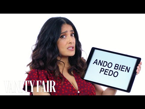 Salma Hayek Teaches Us Mexican Slang