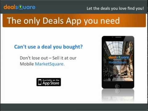 Video of DealSquare - Buy & Sell Deals