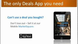 DealSquare - Buy & Sell Deals YouTube video