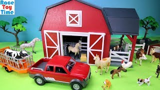 Video Farm Barn Terra Playset with Fun Animals Toys For Kids MP3, 3GP, MP4, WEBM, AVI, FLV Desember 2017
