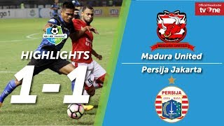 Video Madura United vs Persija Jakarta 1-1 All Goals & Highlights MP3, 3GP, MP4, WEBM, AVI, FLV Mei 2018