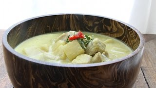 Pork & Pineapple Green Curry
