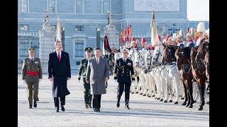 Video LIVE: Chinese President Xi Jinping attends official welcoming ceremony in Spain MP3, 3GP, MP4, WEBM, AVI, FLV Desember 2018
