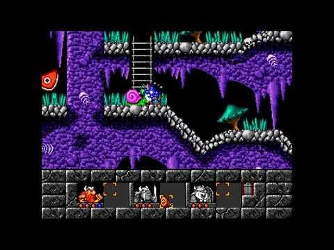 The Lost Vikings DOS Longplay (Full Walkthrough) [HD]